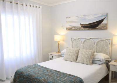 Kenton Beach Cottages Accommodation – Driftwood – Bedroom