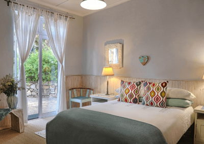 Kenton on sea Beach Cottages Accommodation – Out of the Blue – Main Bedroom